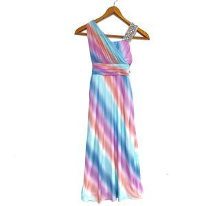 My Michelle | NWT Beaded Colorful Dress